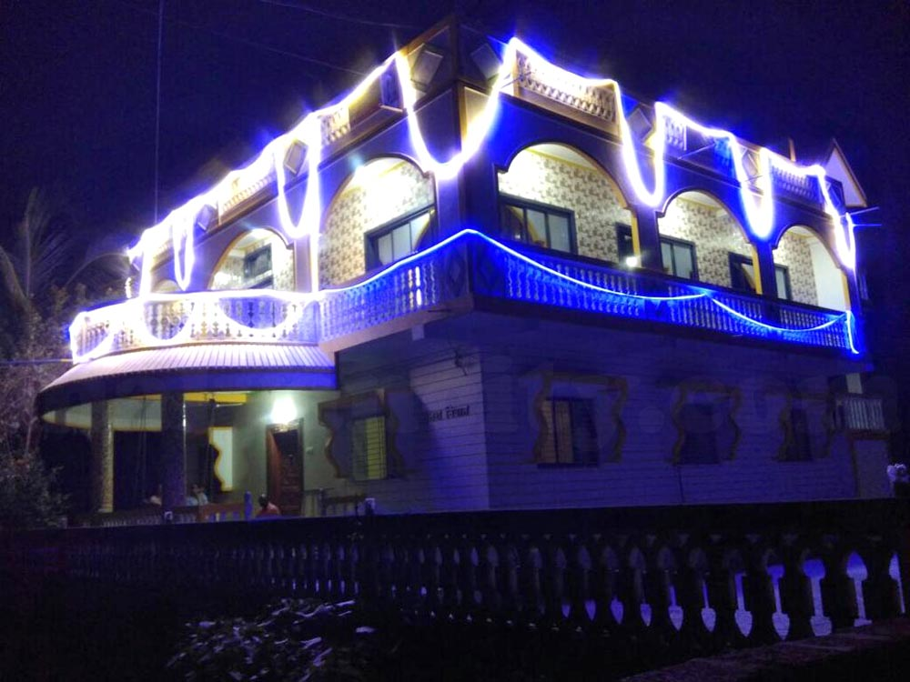 Uttara Niwas - Exterior Night View